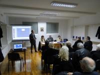 Представљање зборника ''Рече ми реч'' ( 2010 ) у Вуковару 3. марта 2011.