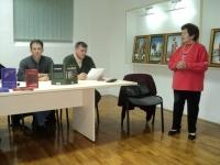 Представљање књиге проф. др Анте Лешаје ''Књигоцид'' (2012) у Вуковару 27. новембра  2012.